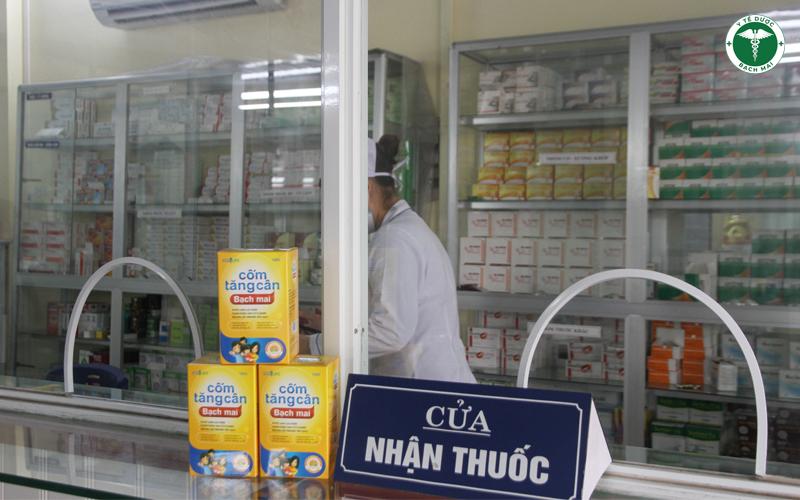 Các mẹ có thể mua sản phẩm ngay tại quầy thuốc của phòng khám đa khoa Bảo An