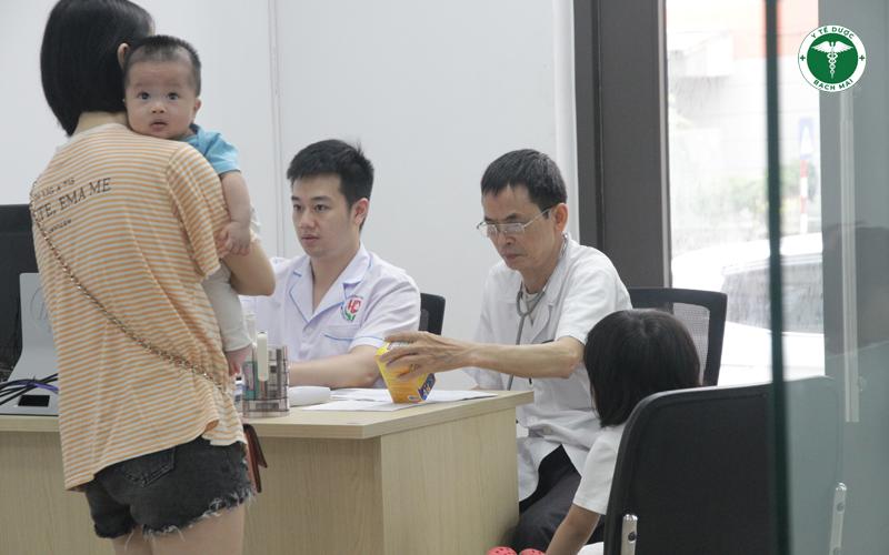 Các bác sĩ tại Trung tâm tiêm chủng Đức Minh đánh giá cao sản phẩm của  Y Tế Dược Bạch Mai