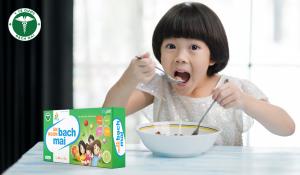 Ăn Ngon Bach Mai bổ sung dinh dưỡng giúp trẻ ăn ngon tự nhiên, tăng cường hấp thu